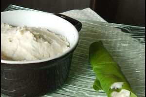 Tartinade de haricots blancs à la coriandre et au citron