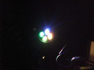 HDR touch® neuesten Design-Highlight-Farbe LED-Solar-Garten-Lampe im Test...