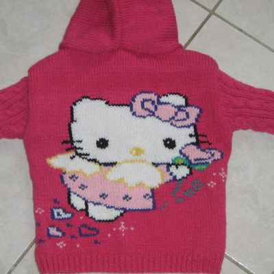 veste a capuche hello kitty
