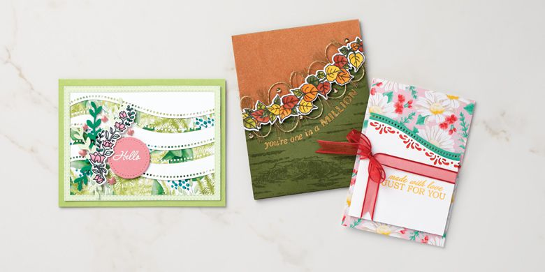 Stampin'Up! Pleins feux sur le lot Belles courbes / The QUITE CURVY bundle from Stampin' Up!.