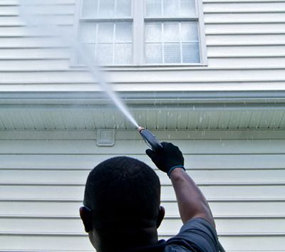 Give Your Home's Exterior A Deep Spring Cleaning