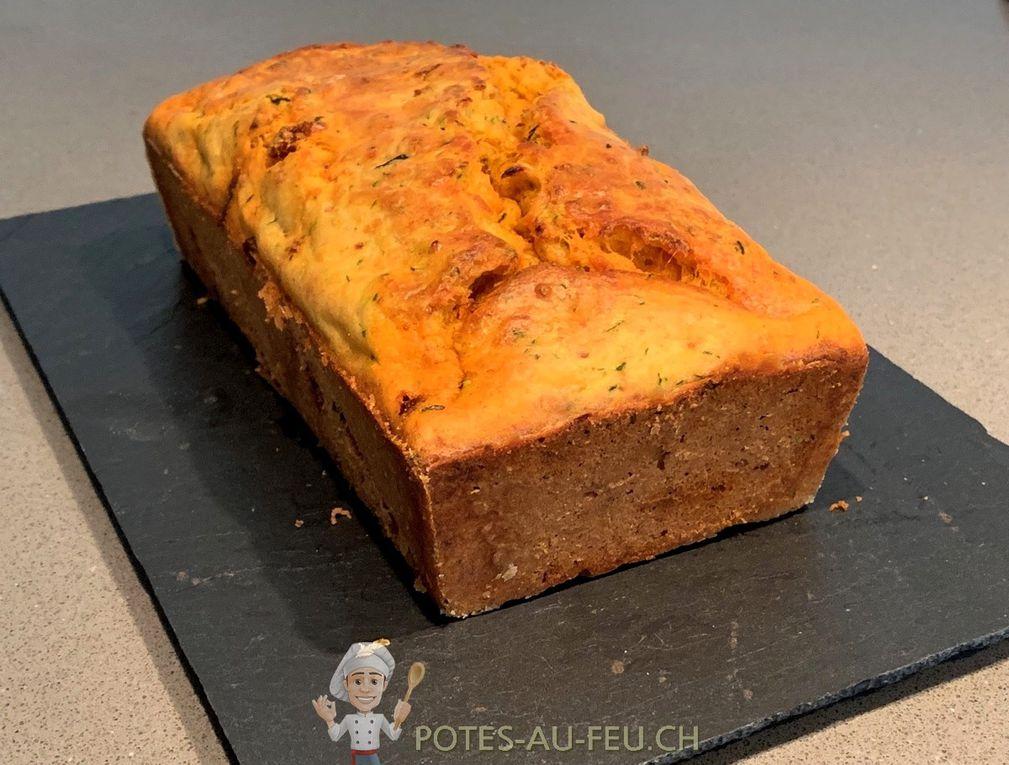 Cake de Courgette au Chorizo