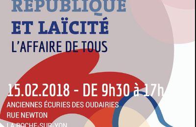 «Valeurs de la République et laïcité»