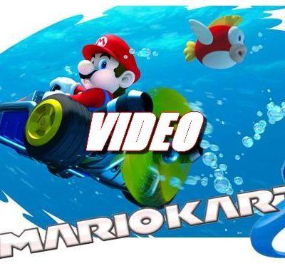 Mario Kart 8 - Forêt Tropicale DK (Video)