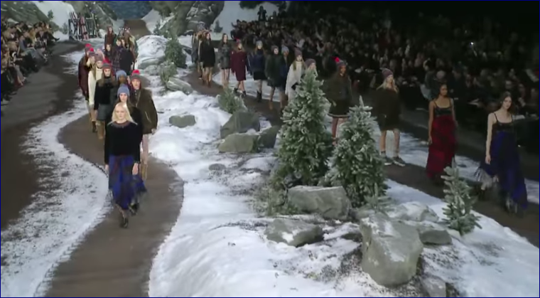 Chanel by Tommy Hilfiger autunno inverno 2015