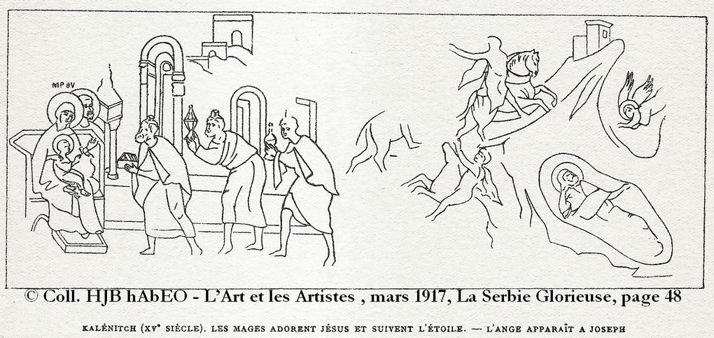 Illustrations par Alméric Lobel-Riche, mars 1917