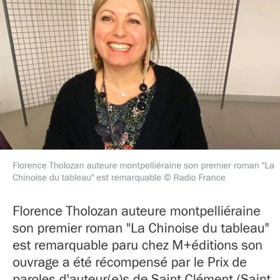 Interview du 24/09/2020 sur Radio France Bleu Hérault en post cast