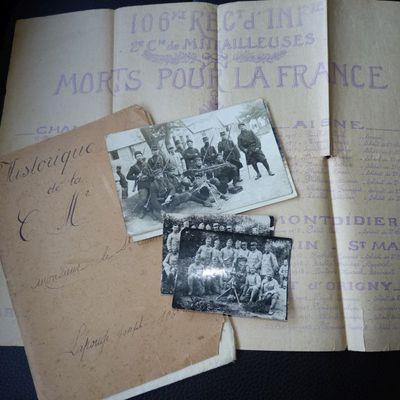 Historique de la Compagnie de Mitrailleuses N°2