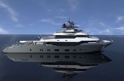 First Oceanic 140' fast expedition superyacht sold and construction underway