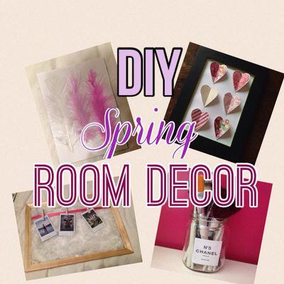Diy : spring room decor