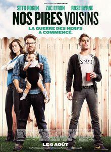 J'ai regardé les 10 premières minutes de Nos pires voisins de Nicholas Stoller.