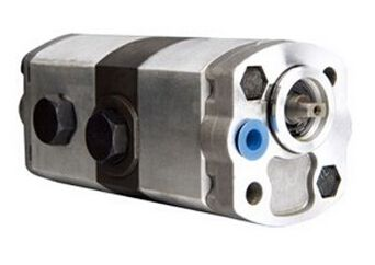 double gear pump with hi-pressure and low pressure