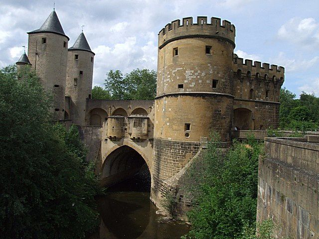 Diaporama porte des Allemands à Metz
