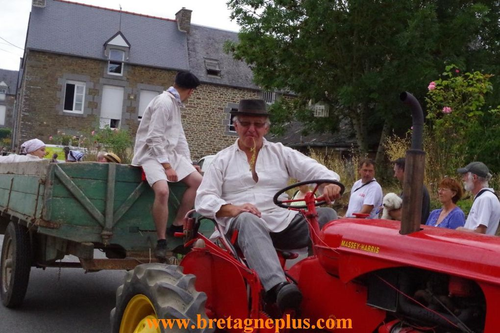Ce dimanche 11 août, se déroulait la seconde journée de la Fête du blé 2013, à Pleudihen sur Rance