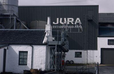 Sur l'île d'Islay: des savons… au wisky bien sûr