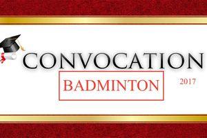 Convocation Badminton du 8 février 2017
