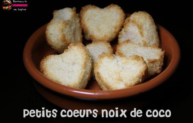 Petits Coeurs Noix de Coco