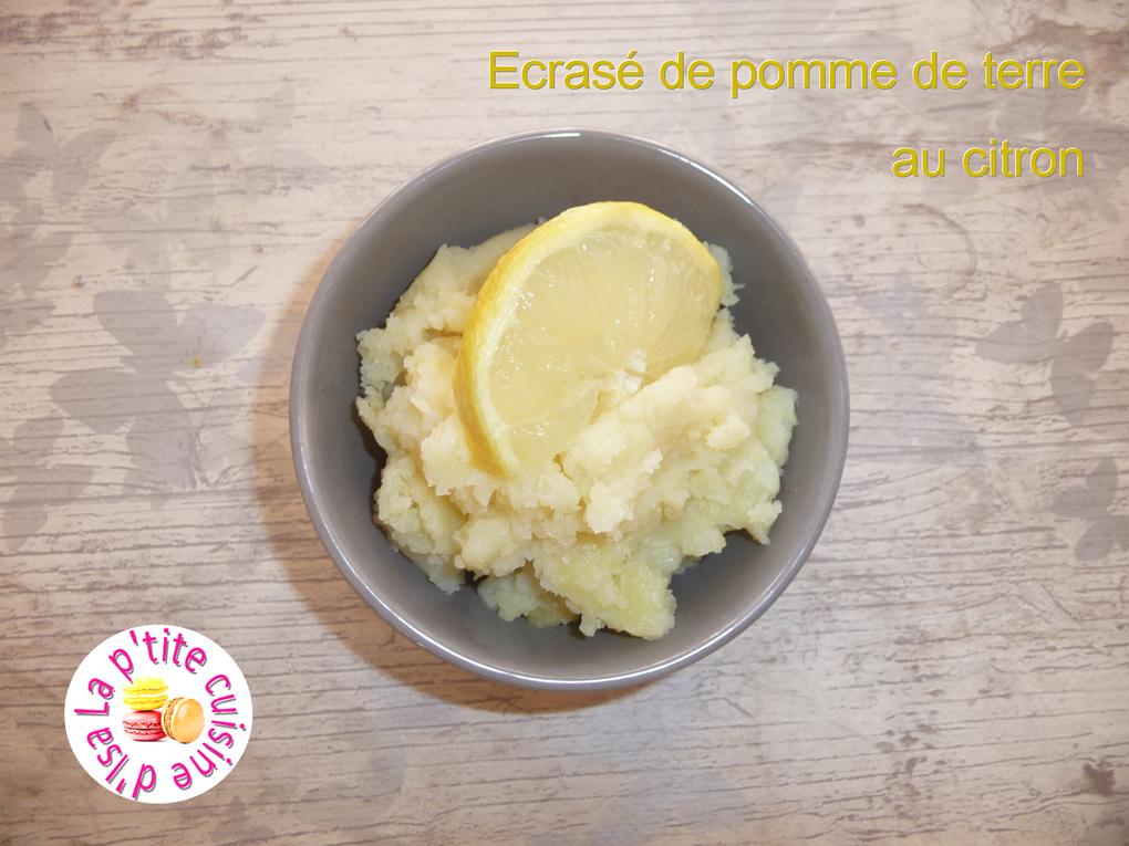 Écrasée de pomme de terre au citron