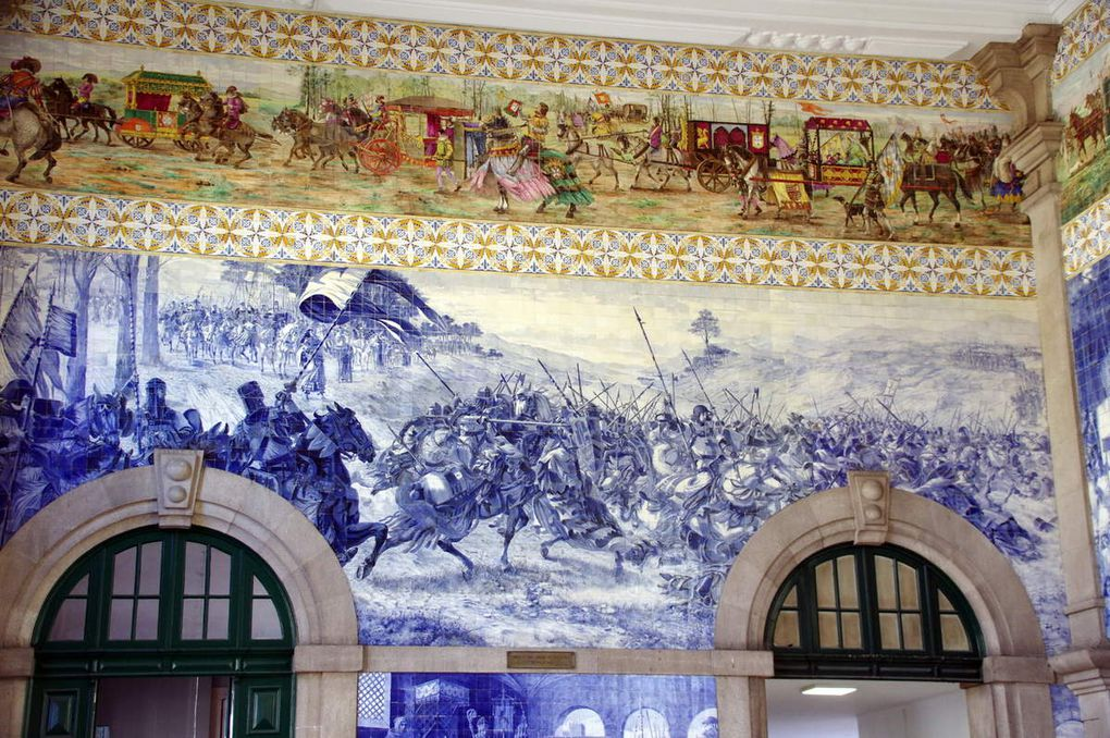 Gare de Sao Bento et Eglise Santo Antonio