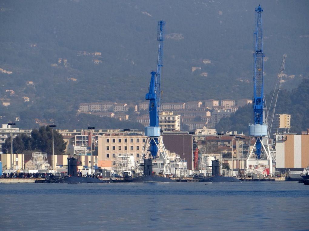 La base sous marine de Toulon le 19mars 2016