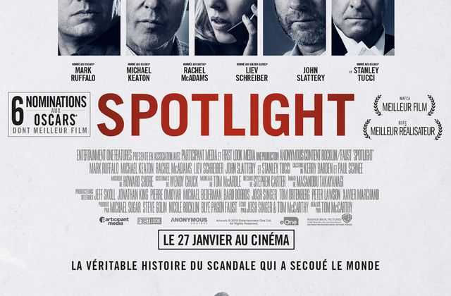 Critique Ciné : Spotlight (2016)