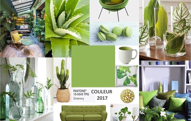 COULEUR PANTONE 2017 Greenery