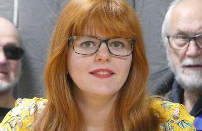 Anne-Sophie MANGIN, engagée avec la liste « Epinal, Ou'verte sur l'Avenir »