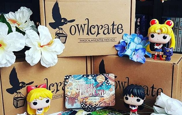 Unboxing OwlCrate (n°8)