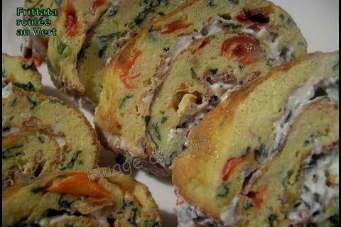 Frittata Roulée à la Roquette & Ricotta (recette WW)