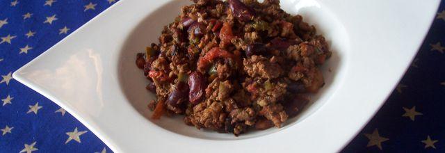 Chili con carne à ma façon
