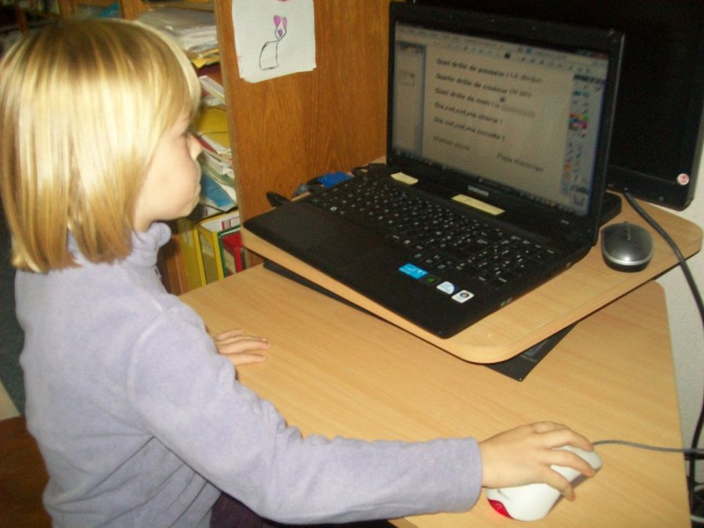 Le numérique à l'école Sainte Anne de Feugarolles