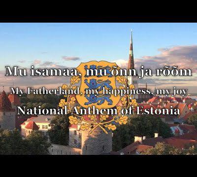 Hymne national d'Estonie