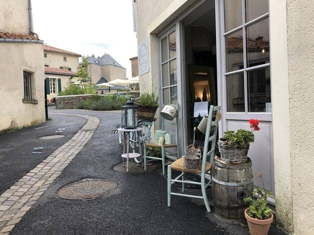 Une ruelle de Vouvant. | OUEST-FRANCE