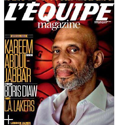 Numéro spécial NBA samedi dans L'Equipe Magazine.