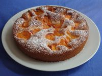 Gâteau abricot amande