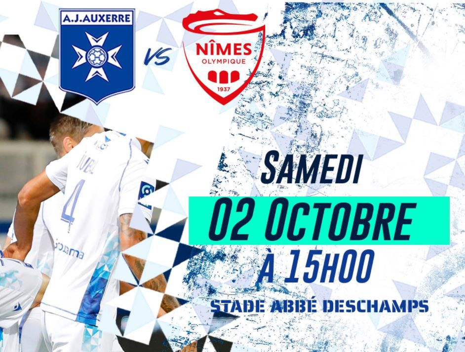 AJ Auxerre / Nîmes  : Sur quelle chaîne suivre la rencontre samedi ?