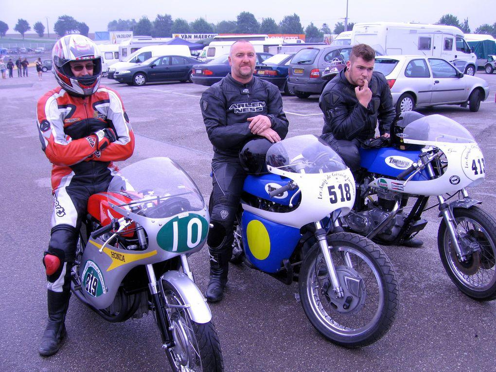 Trophees-Jumeaux-2010 Croix en Ternois Demonstrations motos et sides anciens sur piste
