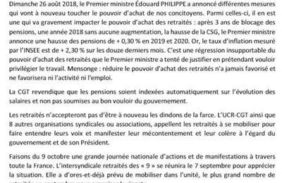 Macron cible encore les retraités: à l'action!