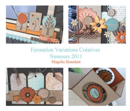 RETOUR DES VARIATIONS CREATIVES !