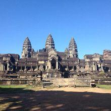 Bonne année de la cité royale d'Angkor