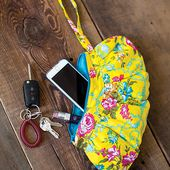 Gathered Zipper Pouches Project
