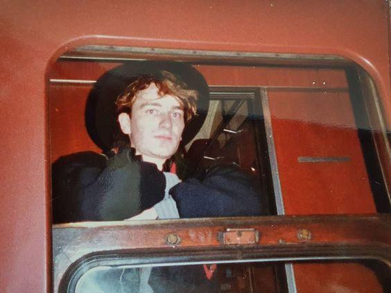 U2 -October Tour -16/10/1981 -Stoke  Angleterre -King's Hall