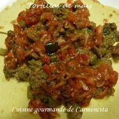 Gorditas à la viande de boeuf hachée - Cuisine gourmande de Carmencita