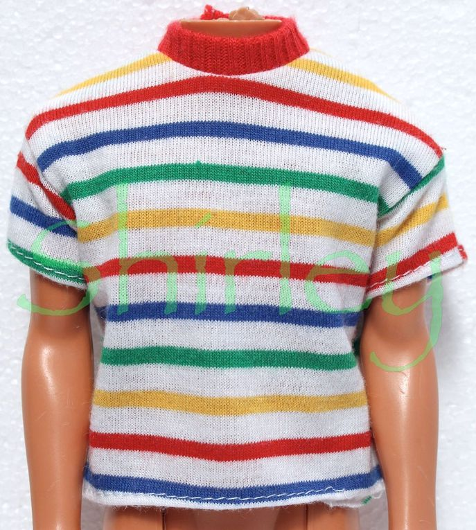 """""""EASY ON FASHIONS"""" KEN DOLL CLOTHES 1989 MATTEL #9299"""