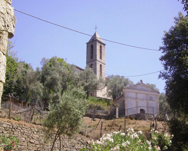 Eglise St Siméon et chapelle funéraire DESANTI-BARTOLI.