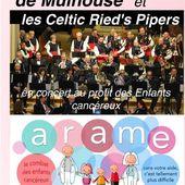 Concert 2018 par l'Orphéon de Mulhouse et le Celtic Ried's Pipers pour l'ARAME à Meyenheim - anciens9genie.overblog.com