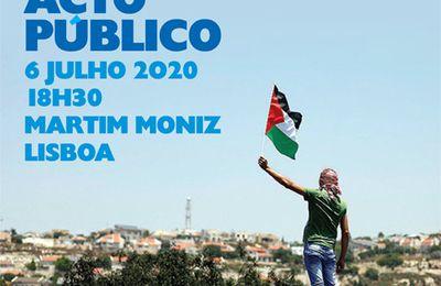 Lisbonne : Acte public de solidarité avec la Palestine - 6 juillet