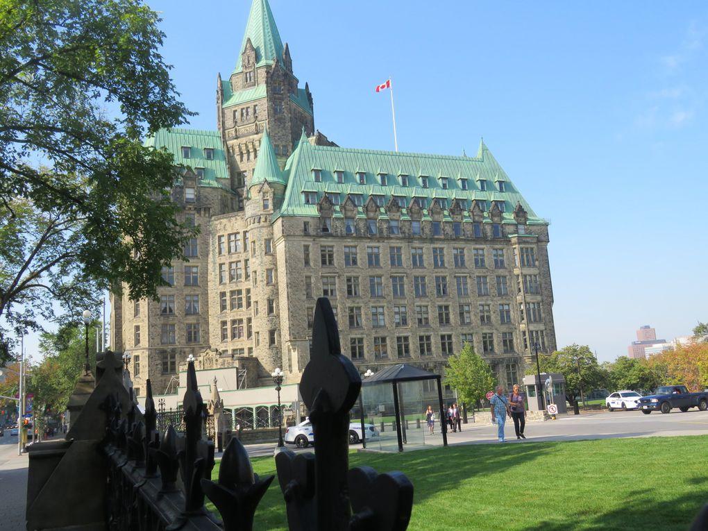Voyage au Canada ...... De Kingston à Québec en passant par Ottawa et Victoriaville (jours 3 et 4)