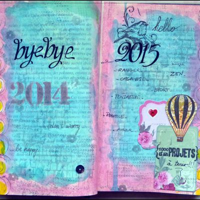 Book of Me version art journal