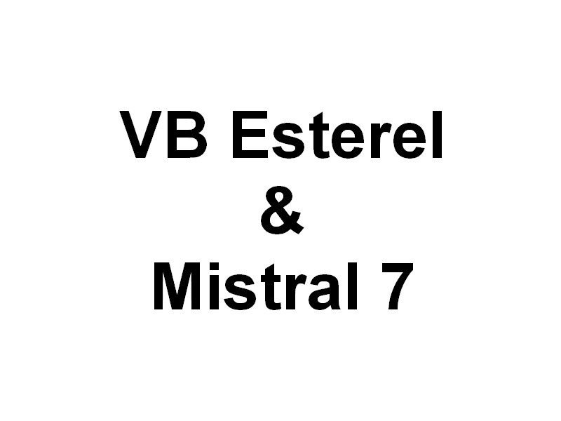 VB ESTEREL & MISTRAL 7  , arrivant a port de bouc   le 21 mai 2015